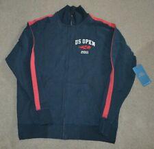 Nwt 2011 Us Open Tennis '47 Brand Full Zip Track Jacket Sweatshirt Large