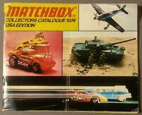 Matchbox Collectors Catalogue 1974 USA Edition Lesney Products Corp