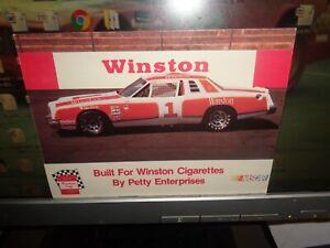 1978 NASCAR No. 1 Winston Petty Enterprises Dodge Magnum Vintage Postcard