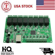 New listing 8 Channel Relay Network Ip Relay Web Relay Dual Control Ethernet Rj45 interface*