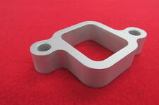 3/4 CNC Billet aluminum water outlet spacer Chevy L6 194 230 250 292 Inline