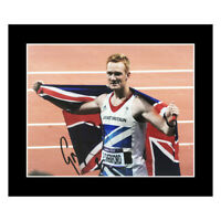 Signed Greg Rutherford Photo Display - Olympic Icon +COA