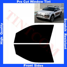 Pre Cut Window Tint Citroen C4 Cactus 5 Doors 2014-...  Front Sides Any Shade