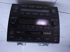 04 LEXUS GS300 FACTORY RADIO / CD / CASSETTE 86120-3A522
