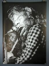 Ian Anderson, Jethro Tull, Vintage Flute Poster 1971