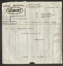 """PARIS XVIII° / USINE de CAFES & BONBONS / TORREFACTION """"GILBERT"""" en 1965"""