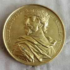 Guillermo II 1060 - 1100 medalla de color oro 40 mm de reproducción Dassier