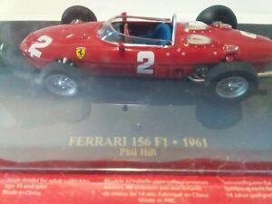 Ferrari 156 F1 -1961 Model Car Driven By Phil Hill