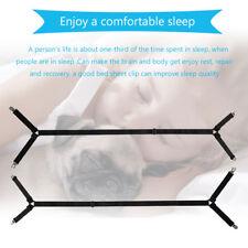 Mattress Bed Sheet Crisscross Elastic Straps Clips Gripper Suspender Fasteners
