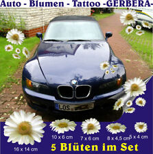 Flower Tattoo Exterior Styling Badges, Decals & Emblems