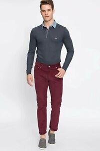 Las Mejores Ofertas En Pantalon De Pana Lacoste Para Hombres Ebay