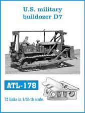 1/35 Friulmodel ATL-178 U.S. military Bulldozer D7 Friul Metal Tracks