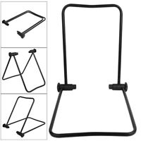 Folding Bicycle Trainer Stationary Bike Cycle Stand Parking Rear Hub Mount Rack