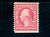 USAstamps Unused VF US 1909 Washington Vertical Coil Scott 353 OG MNH