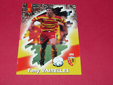 PANINI FOOTBALL CARD 98 1997-1998 TONY VAIRELLES RC LENS RCL BOLLAERT SANG & OR