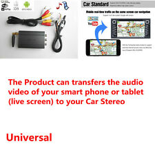 Car WiFi Airplay A/V Mirror Converter Adapter for iOS Android Devices Ipad ipod