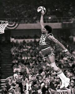 ABA 1976 All Star Game Slam Dunk Contest DR J Julius Erving 8 X 10 Photo