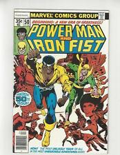 Power Man & Iron Fist #50/Bronze Age Marvel Comic Book/Team Up Begins/NM-