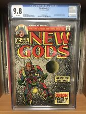 NEW GODS #1 CGC 9.8 White Pages 1st App Orion - JACK KIRBY ART - Mister Miracle