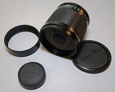 Minolta MD RF Rokkor 500/8 Reflex Telephoto Lens Nikon DSLR FX Mount
