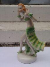 Green Vintage Original European Date-Lined Ceramics