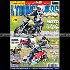 YOUNGTIMERS MOTO 20 GUZZI V7 TRIUMPH 900 SPRINT KAWASAKI F11 250 HONDA VF 1000