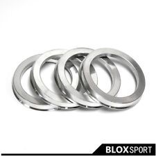 4pcs Wheel Hub Rings for Audi 80 AI A2 A3 A4 A6 ALLROAD COUPE ID57.1 TO OD73.1