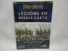 Games Workshop Lord of the Rings SBG Legions of Middle Earth Source Book - VG