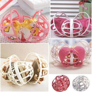 1pcs Pink Ball Bubble Bra Saver Hot Kit Protector Machine Double Washing Laundry