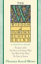 The Wisdom of Florence Scovel Shinn 4 Complete Books FREE SHIPPING healing four
