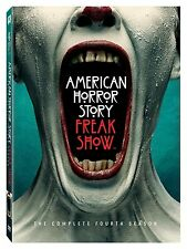 American Horror Story Freak Show: Complete Fourth Season 4 (DVD, 2015, 4-Discs )