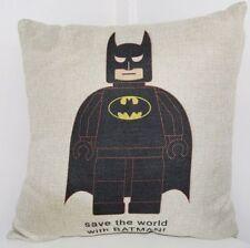 Cartoon 100% Linen Decorative Cushion Covers