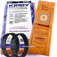 9 Kirby Micron Vacuum Bags 2 Belts Sentria Ultimate Diamond G6 G5 G4 G3 197394