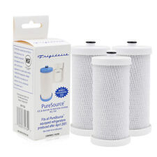 Frigidaire WF1CB Replacement RG100 Refrigerator Water Filter Pure 3 Pack