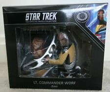 More details for new star trek collectors bust lt. commander worf eaglemoss collections issue 3