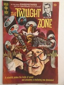 Gold Key THE TWILIGHT ZONE #31 (1969) Painted Cover HIGH GRADE