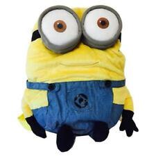 "Despicable Me Jerry Minion Minions Plush Backpack 13"" Cartoon Costume Bag NWT"
