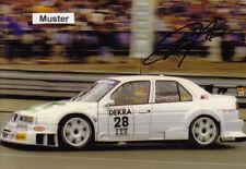 AUTOGRAMM auf Foto 13x18 cm DTM 1995 Fabrizio Giovanardi - Alfa Romeo 155 V6 Ti