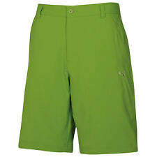 New Puma Golf Men's Tech Bermuda Shorts Greenery - Size 28