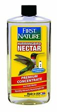 First Nature 3052 Clear Hummingbird Nectar 16 oz.