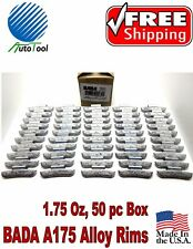 WHEEL WEIGHTS ALLOY Clip on RIMS 1.75 Oz, 50 pc Box BADA ALX 175  MADE IN USA