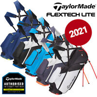 TaylorMade FlexTech Lite 4-WAY Golf Stand Bag - NEW! 2021 *ALL COLOURS*