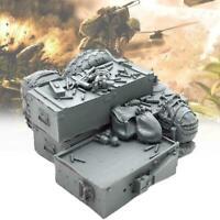 Model Original 1/35 Resin Platform Mit Segel Unlackiert Unmontiert J5V2