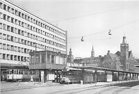 BG22764 tramway station carl marx stadt zentralhaltestelle germany CPSM 14.5x9cm