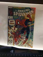 The Amazing Spider-Man #327 (Dec 1989, Marvel) NM- ERIC LARSEN