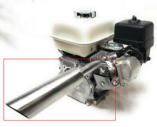 Header Exhaust Pipe for: Mud Motor for Honda Gx 160, Honda Gx 200