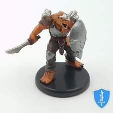 Dragonborn Fighter (sword) - Monster Menagerie 3 #20A D&D Miniature