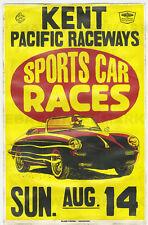 1960's Porsche 356 B Roadster Washington Race Vintage Advertising Poster 11x17