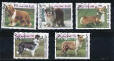 Afganistan 1999 Dogs set of 5 Canceled