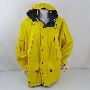 Eddie Bauer Large Gore-Tex Ebtek Hooded Jacket Waterproof Parka